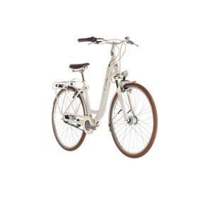 Cube Ella Cruise - Bicicleta urbana Mujer - Easy Entry beige/Plateado